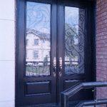 Wrought Iron Doors,Design Fiberglass Double Doors with Multi Point Locks by Windows and Doors Toronto in Toronto