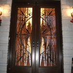 Wrought Iron Double Doors Installed in Thornhill by Windows and Doors Toronto