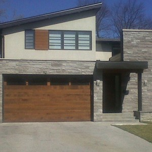 custom-garage-doors installed by Windows and Doors Toronto