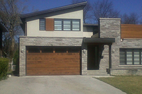 custom-garage-doors installed by Windows and Doors Toronto