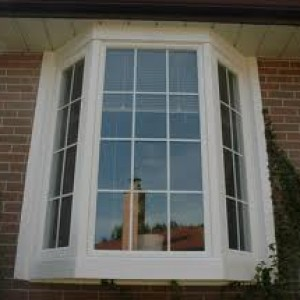 Bay window with grills installed in toronto.