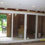 Installation of oversized Patio Doors and Windows in Etobicoke