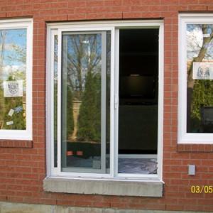 Patio door and 2 Windows in Toronto by Windows and Doors Toronto