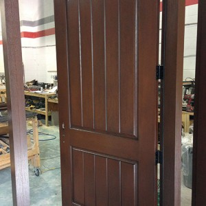Rustic FIberglass Exterior Door installed by windowsanddoorstoronto.ca