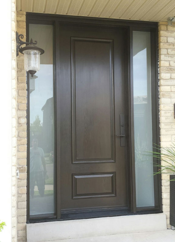 Windows And Doors Toronto Fiberglass Exterior Door With