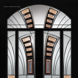 Las Vegas Wrought Iron Art Design Doors with 2 Side Lites and Arched Transom by Windows and Doors Toronto