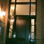 custom-fiberglass-excutive-door-with-clear-side-lites-and-huge-transom-installed-in-woodbridge