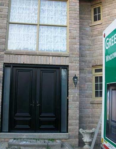 Windows and Doors Toronto-Smooth Fiberglass Doors-Smooth Doors, 8 foot Solid Doors installed by Windows and Doors Toronto