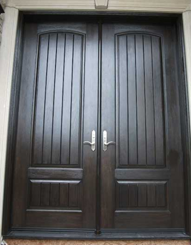 Windows and Doors Toronto-Fiberglass Doors-8 Foot Doors-Fiberglass-Double-Solid-Parliament-Doors-with-Multi-Point-Locks-Installed in Oakville  by  Windows and Doors Toronto