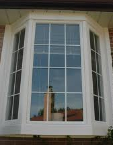 Bay window with grills installed in toronto by Windows and Doors Toronto