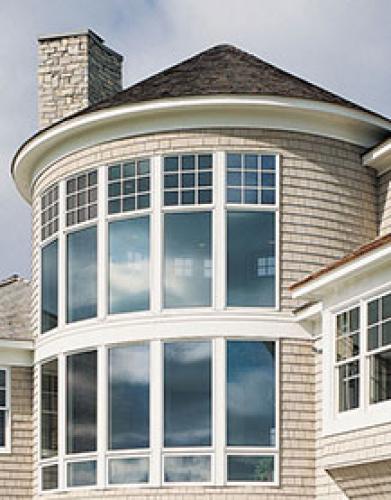 Energy Efficient Bow Windows