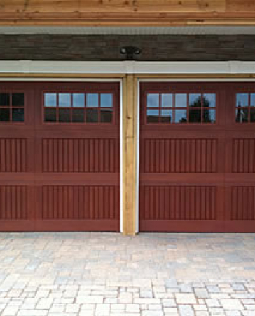 Windows and Doors Toronto-Fiberglass Garage Doors with Windows & Panels installation by Windows and Doors Toronto