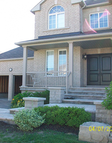 Installation of full house windows and front Doors Brampton by Windows and Doors Toronto