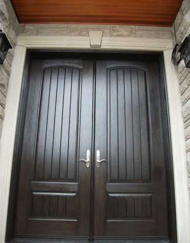 Windows and Doors Toronto-Rustic Doors-Fiberglass Rustic Doors-Rustic Doors Parliment Door with Multi point Locks installed by Windows and Doors Toronto in Niagara Falls