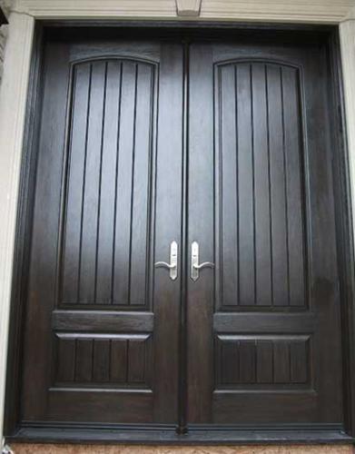 Windows and Doors Toronto-Rustic Doors-Fiberglass Rustic Doors-Rustic Doors Solid Parliment with Multi point Locks installed by Windows and Doors Toronto in Niagara Falls