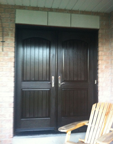 Rustic Doors with Multi Point Locks Installed by Windows and Doors Toronto