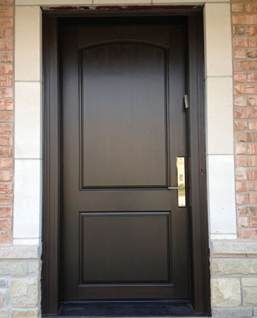 Windows and Doors Toronto-Smooth Fiberglass Doors-Smooth Door with multi point locks Installed by Windows and Doors Toronto