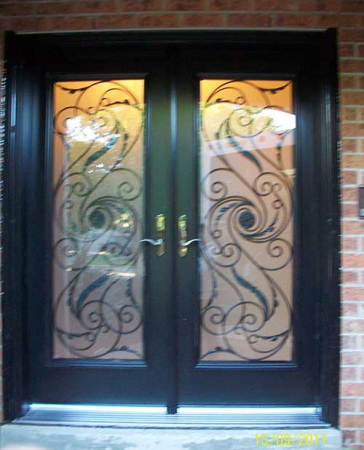 Windows and Doors Toronto-Smooth Fiberglass Doors-Smooth Doors-Smooth Julleitta Design Fiberglass Doors with Multi Point Locks Installed by Windows and Doors Toronto