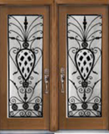 Windows and Doors Toronto-Fiberglass Doors-Stained Glass Front Doors-Venetian Stained Glass  Fiberglass Doors by  Windows And Doors Toronto
