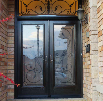 Wrought Iron Fiberglass Doors Do More than You Think