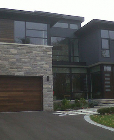 Windows and Doors Toronto-Fiberglass Custom Garage Doors installed by Windows and Doors Toronto in Oakville