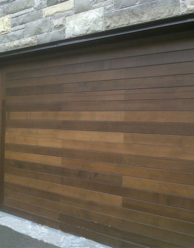 Windows and Doors Toronto-Custom Fiberglass Garage Doors installed by Windows and Doors Toronto in Oakville