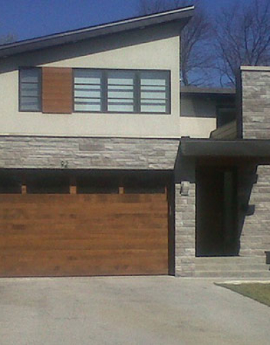Windows and Doors Toronto-Fiberglass custom-garage-doors installed by Windows and Doors Toronto in Woodbridge